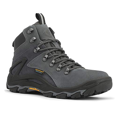 ROCKROOSTER Men's Waterproof Hiking Boot, 6'' Non-Slip Outdoor Trekking Boots, Lightweight Ankle Mountaineering Boots