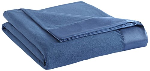 Shavel Home Products All Seasons Year Round Sheet Blanket, King, Smokey Mt. Blue