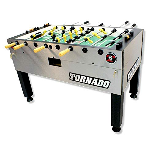 Tornado Tournament 3000 Foosball Table - Made in The USA - Commercial Tournament Quality for The Home - Made by Valley Dynamo - Incredible Table Soccer Game
