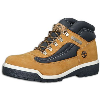 Timberland Men's Field Boot ( sz. 08.5, Wheat/Navy )