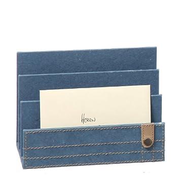 Utensilo Briefsammler Jeans blau