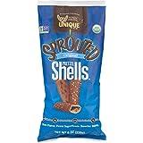 Unique Pretzels Sprouted Pretzel Shells, 8 Ounce, 12 Bags