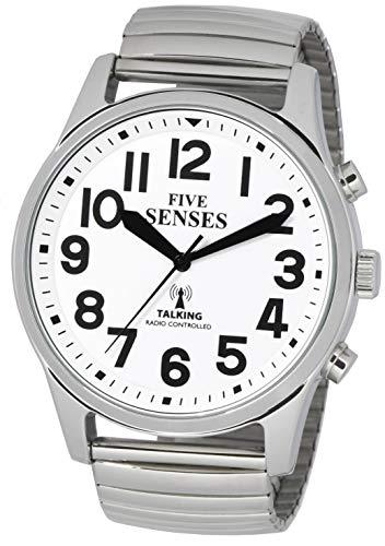 Atomic English Talking Watch - 5 Senses Jumbo Size 43mm Talking Watch :1522 ()
