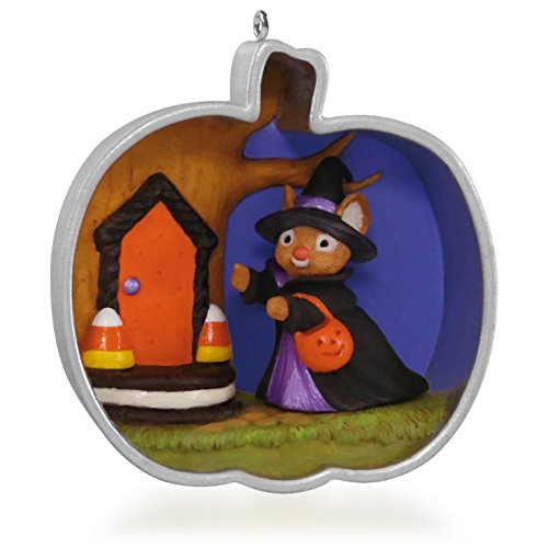 Hallmark 1 X Cookie Cutter Halloween Mouse Ornament 2015 -