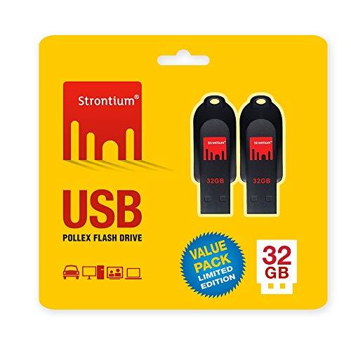 Strontium 32GB USB Pollex-Pack of 2