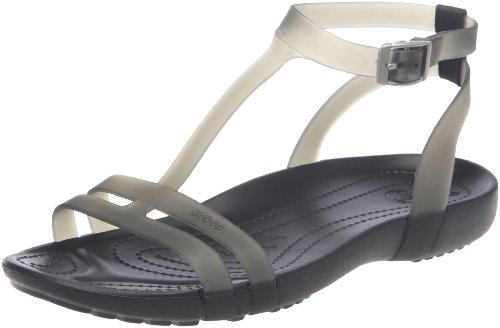 Ankle Black Crocs Sandal Women's Sexi Strap Black Pxt1F