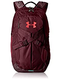 Under Armour Mochila Recruit 2.0, Dark Maroon (600)/Radio Red, Una Talla