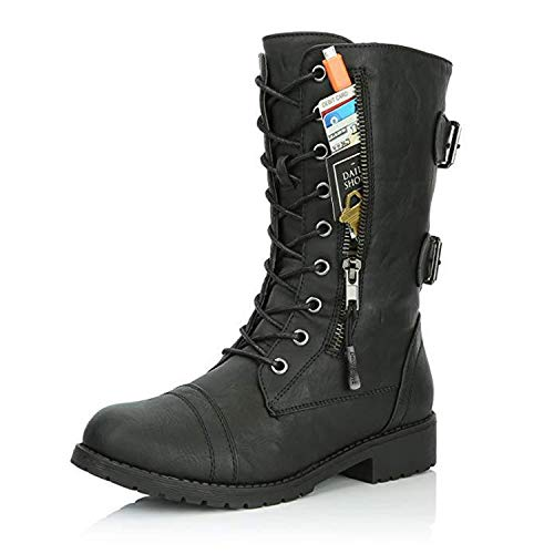 Heroic spirit Women Boots Zip Buckle Military Combat for sale  Delivered anywhere in Canada