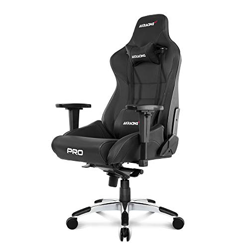 - AKRacing AK BK Masters Series Pro Luxury XL Gaming Chair, Black