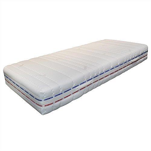 Taschenfederkernmatratze Betten-ABC® OrthoMatra XXL-TFK, 7-Zonen, Härtegrad H4, mit Coolmax-Bezug - Grösse 90x200