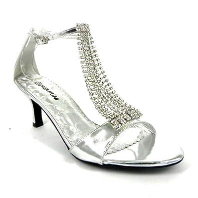 41f725d4b1b143 Salt   Pepper Boogie Silver Womens Sandals  Amazon.co.uk  Shoes   Bags