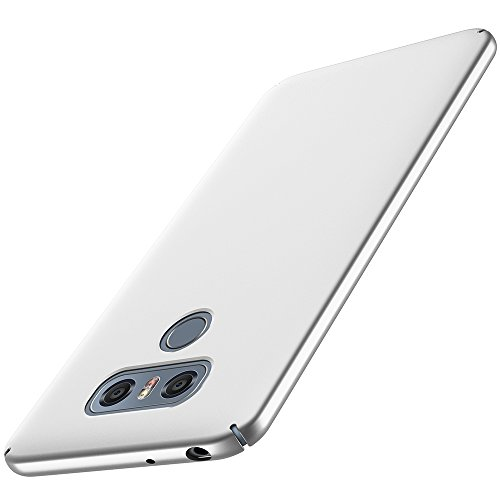 anccer LG G6 Case [Colorful Series] [Ultra-Thin] [Anti-Drop] Premium Material Slim Full Protection Cover for LG G6 (Silver)