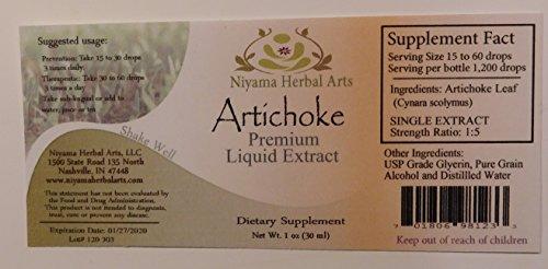 Artichoke Liquid Extract, Cynara scolymus 4 ounce