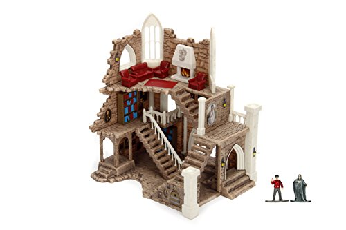 Nano Metalfigs Nanoscene Harry Potter Gryffindor Tower Collectors Environment with 2 Exclusive Figures (31 Piece)