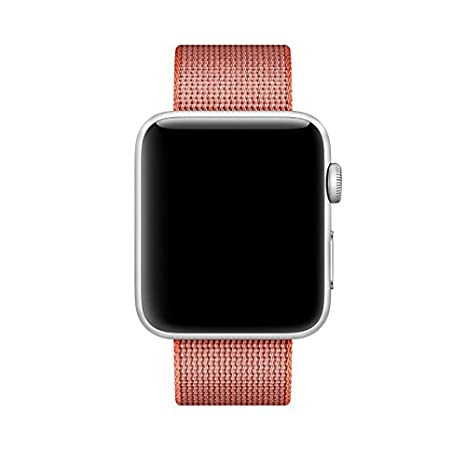 Pantheon Woven Nylon Replacement Band for the Apple Watch by, Womens or Mens, Strap fits the 38mm or 42mm for Apple iWatch 1, 2, 3 and Nike edition ...