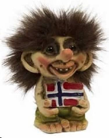 Amazon Com Nyform Troll Norway Flag Figure Home Kitchen