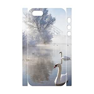 Cool Painting Ice And Snow Brand New 3D Cover Case for Iphone 5,5S,diy case cover case297428