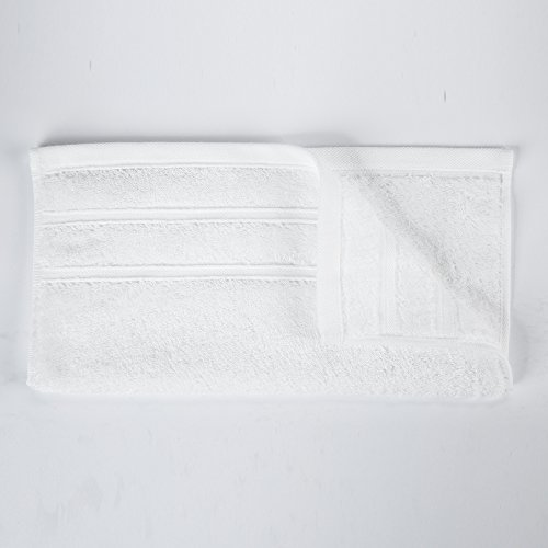 """HaoDuoYi 100% Cotton 16 Piece Washcloths 600GSM, Luxury, Soft,Spa and Hotel 13""""X13"""" White by HaoDuoYi (Image #3)"""