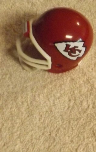 (KANSAS CITY CHIEFS NFL Riddell POCKET PRO Mini Collectible Football Helmet)