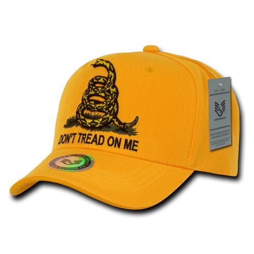 Rapiddominance Don't Tread On Me Cap, Gold