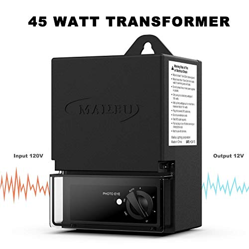 Malibu Transformer of LED 45watt Outdoor Low Voltage for Outdoor Landscape Lighting 3100-1045-01