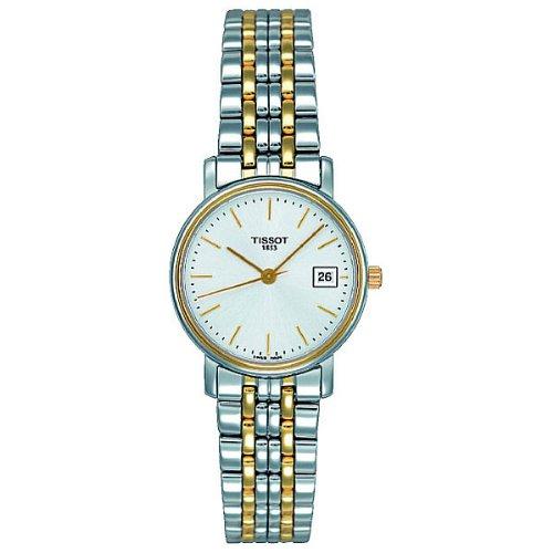 Tissot T52228131 - Reloj analógico de mujer de cuarzo con correa de acero inoxidable multicolor: Amazon.es: Relojes