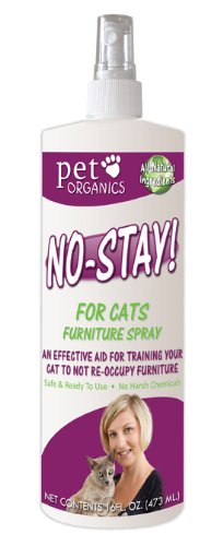 Pet Organics (Nala) CNB04516 No Stay Furn Spray for Pets, 16-Ounce
