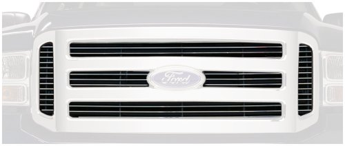 Putco 71155 Shadow Mirror Polished Aluminum Grille