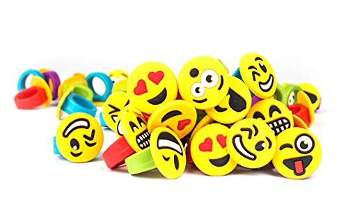 Emoji Party Favors Emoticon Smiley Happy Face 1