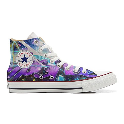 Style Zapatos Personalizados Star Converse All Handmade Street Unisex Producto gq84SZx