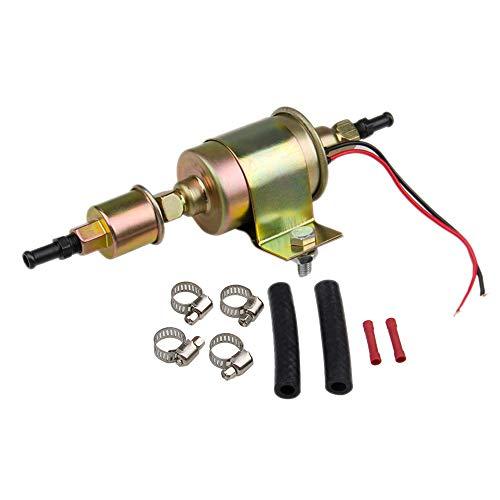 - CarBole 12S Universal 5-9 PSI Car Electric Fuel Pump Carbureted Diesel Gasoline #E8012S