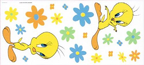 two-looney-tunes-baby-tweety-jumbo-wall-sticker