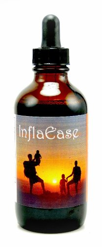 InflaEase (Ease Inflamation) 4 oz Liquid Natural Effective Herbal Formula to Ease Discomfort and Inflammation