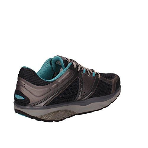 MBT Sneakers Hombre Textil Azul Gris