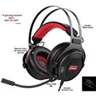 Pro Gaming Headset with Mic (Universal) | Game Changing Premium 3D HD Stereo Sound Video Gamer...