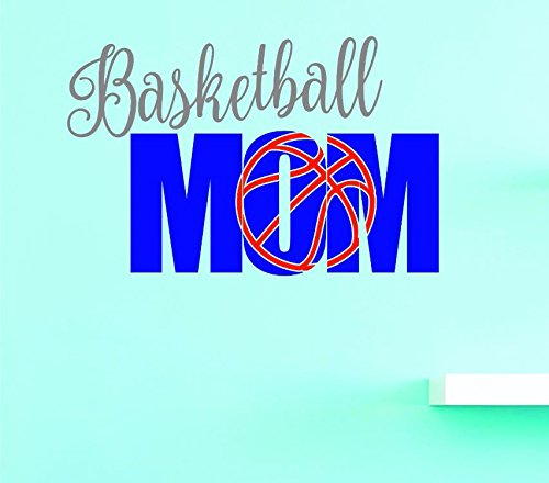 10 Inches X 20 Inches Color Multi 10 x 20 Design with Vinyl US V JER 3955 1 Top Selling Decals Basketball Mom Wall Art Size