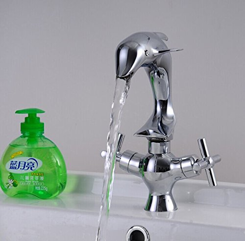 Ddlli Badarmaturen für Küchenspülen Wasserhahn Duscharmatur F6Lavatory Armaturen Waschtischarmatur, Standard