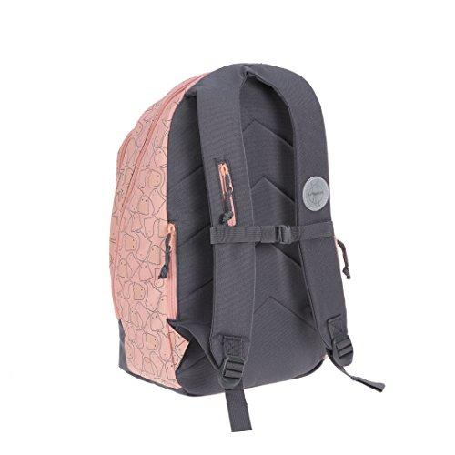 Lässig Mini Backpack Big Kinderrucksack Kindergartentasche, 32 x 18x 42 cm, Starlight magenta Spooky Peach