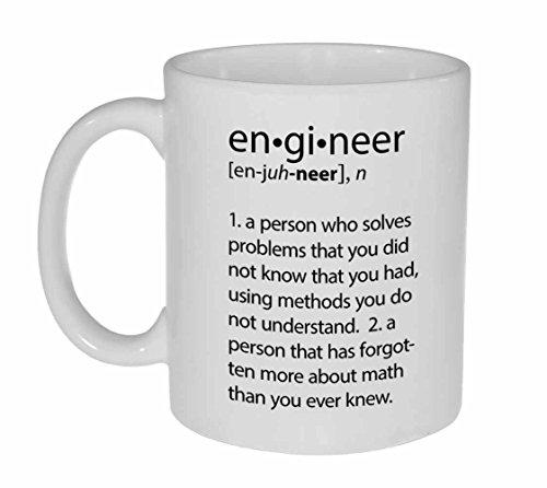 Engineer Definition Funny Coffee or Tea Mug