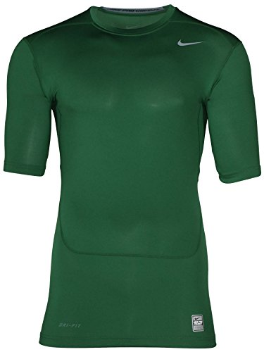Nike Mens Core 2.0 Compression Short Sleeve SS Top (xx-large, green)