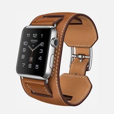 Apple Watch 42mm カフ [フォーヴバレニアレザーバンド]の商品画像