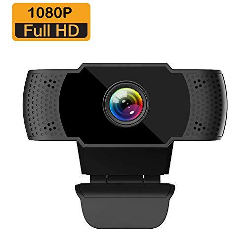 🥇 ieGeek Webcam Full HD 1080P con Micrófono