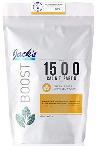 Jack's Nutrients Calcium Nitrate Part B 15-0-0, 2.2lbs ()