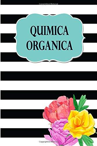 Quimica Organica Cuaderno con hoja hexagonal para tomar apuntes de Quimica, estructura, propiedades y reacciones  de compuestos organicos, 8.5 x 11 ... y hexagonal, 120 paginas.  [Poblana Journals, Casa] (Tapa Blanda)