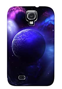 NrFtlWs766UlDvm Faddish Nebula And Planet Case Cover For Galaxy S4 With Design For Christmas Day's Gift