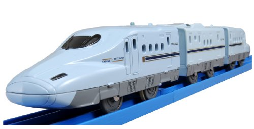 Plarail S-04 with Lights Series N700 Shinkansen Mizuho Sakura by TOMY