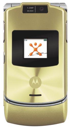 Motorola RAZR V3xx Gold Phone (AT&T, Phone Only, No Service)
