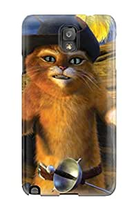 Fashionable Style Case Cover Skin For Galaxy Note 3- Puss
