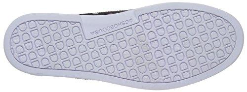 Dc Mens Schurken S Enjoi Skate Schoen Zwart / Witte Print