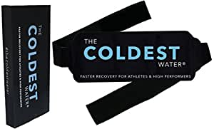 The Coldest Ice Pack Gel Reusable - Hot + Cold Therapy - Flexible Compress Best for Back Pain Hip Shoulder Neck Ankle Sprain Recovery, Muscle Injury Medical Grade